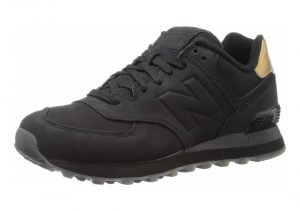 New Balance 574 Molten Metal - Black (WL574MTC)