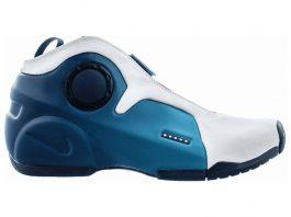 Nike Air Flightposite 2 - White Midnight Blue 100 (CD7399100)