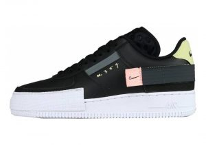 Nike Air Force 1 Type - Nero Black Anthracite Zinnia Pink Tint 001 (CI0054001)