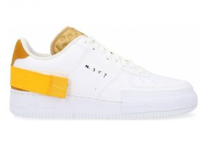 White / University Gold-gold Suede (AT7859100)