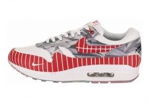 Nike Air Max 1 LHM - White/University Red (AH7740100)
