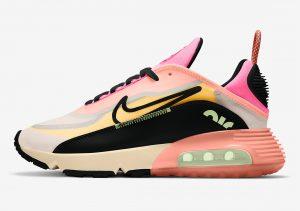 Nike Air Max 2090 Barely Volt/Atomic Pink/Pink Glow/Black