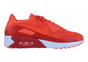 Nike Air Max 90 Ultra 2.0 Flyknit - Orange (875943600)