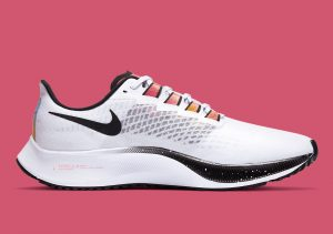 Nike Zoom Pegasus 37 White/Multi Color/Black/Flash Crimson