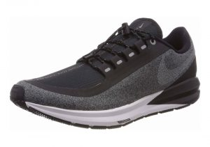 Nike Air Zoom Structure 22 Shield - Black/White-Cool Grey-Vast Grey (AA1646001)