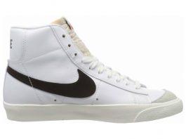Nike Blazer Mid 77 Vintage - White White Black 000 (BQ6806100)