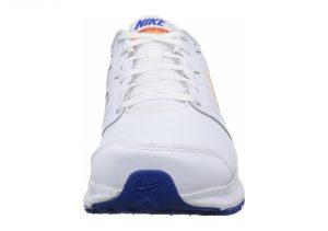 Nike Downshifter 6 - White Ttl Orange Lyn Bl Dv Gry (684654101)