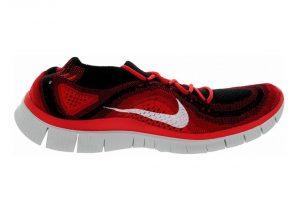 Nike Free Flyknit 5.0 - Black White Gym Red University Rd (615805016)