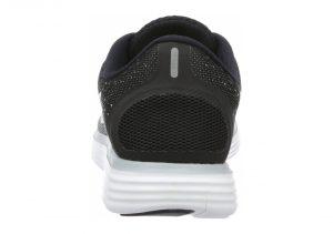 Nike Free RN Distance - Black Black White Dark Grey Wlf Grey (827115010)