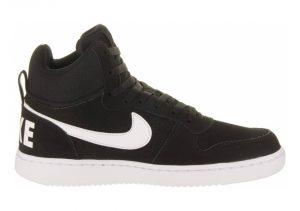Nike Court Borough Mid - Black Black White 010 (838938010)