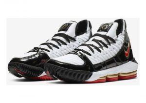 Nike LeBron 16 - White / Comet Red-black (CD2451101)
