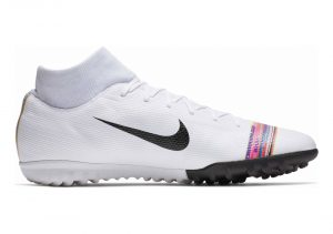 Nike CR7 SuperflyX 6 Academy Turf - White/Black/Pure Platinum (AJ3568109)