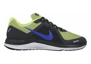 Nike Dual Fusion X 2 - Black Azul Verde Blanco Black Racer Blue Volt White (819316003)