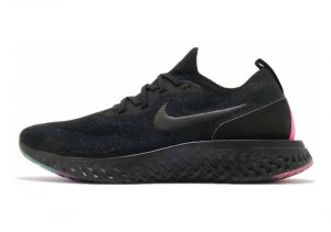 Nike Epic React Flyknit BETRUE - Black Black Pink Blast (AR3772001)