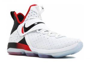 Nike LeBron XIV - white/black-university red (852405103)