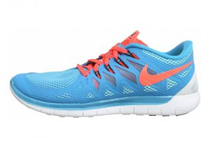Nike Free 5.0 - Blau Blue Lagoon Brght Crmsn Clearwater 406 (642198406)