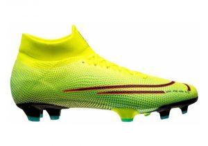 Nike Mercurial Superfly 7 Pro Firm Ground - Lemon Venom Black Aurora Green (BQ5483703)