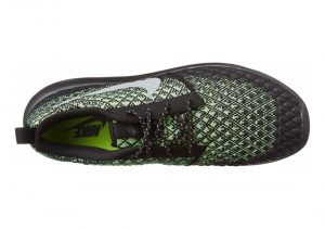 Nike Roshe Two Flyknit 365 - Wolf Grey Green Glow 700 (859535700)