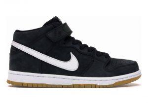 Nike SB Dunk Mid - Black/White-black-gum Light Brown (CD6754001)