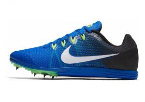 Nike Zoom Rival D 9 - Azul Hyper Cobalt Black Ghost Green White (806556413)