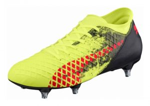 Puma Future 18.4 Soft Ground - Fizzy Yellow Red Blast Puma Black (10432901)