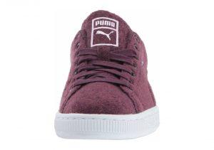 Puma Basket Classic Embossed Wool - Purple (36135003)