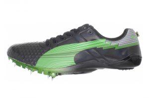 Puma Bolt Evospeed Sprint LTD - Black Fluro Green (18640602)