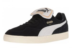 Puma King Suede Legends - Puma Black Puma White Whisper White (36629001)