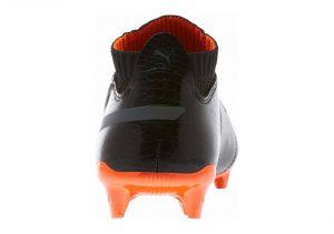 Puma One Lux 2 Firm Ground - Puma Black Puma Black Shocking Orange (10406401)