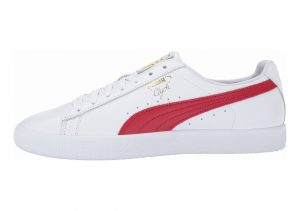 Puma Clyde Core Foil - White Cherry Gold (36466903)