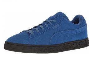 Puma Suede Black Sole - Blue/Black (36443403)