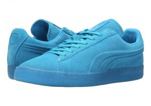 Puma Suede Emboss Iced Fluo - Blue (36188103)