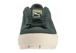 Puma Suede Platform Trace Bold - Green (36706602)
