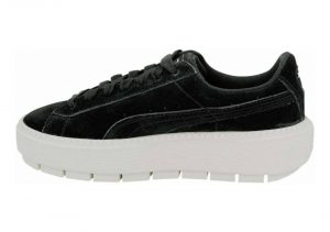 Puma Suede Platform Trace - Black Marshmall (36583007)