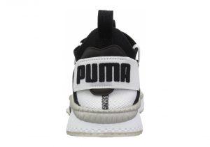 Puma TSUGI Jun Cubism - Puma White Puma Black Gray Violet (36549001)