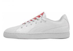 Puma Basket Crush - Puma White / Hibiscus (36955601)