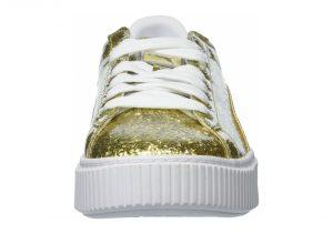 Puma Basket Platform Glitter - Gold (36409302)