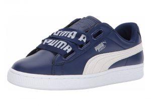 Puma Basket Heart DE - Blue Depths / Puma White (36408202)