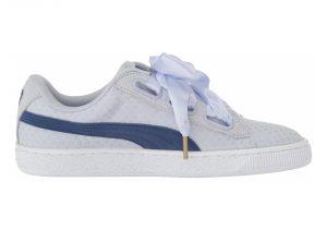 Puma Basket Heart Denim - Blue (36337102)