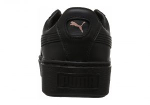 Puma Basket Platform Metallic - Puma Black Rose Gold (36616902)