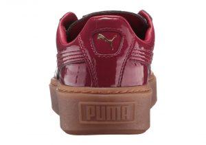 Puma Basket Platform Patent - Purple (36331404)