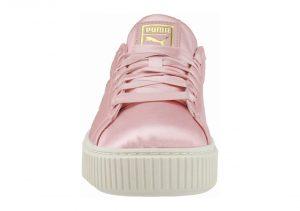 Puma Basket Platform Satin - Pink (36571901)