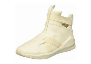 Puma Fierce Strap Leather - White (19056902)