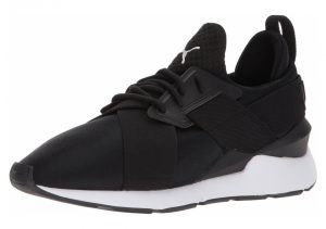 Puma En Pointe Muse Satin - Puma Black Puma White (36553403)