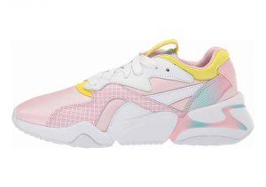 Puma Nova x Barbie - Puma White-orchid Pink