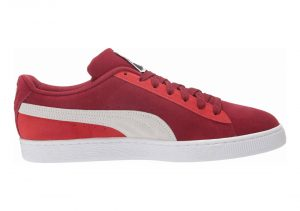 Red Rhubarb Puma White High Risk Red (36534771)