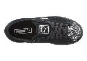 Puma Suede Platform Crushed Gem - Black (36586601)