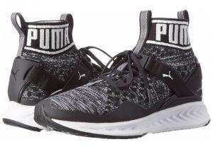 Puma Ignite EvoKNIT - Puma Black Quiet Shade Puma White 01 (18976601)