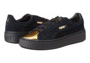 Puma Suede Platform Gold - Gold-puma Black-puma (36222202)