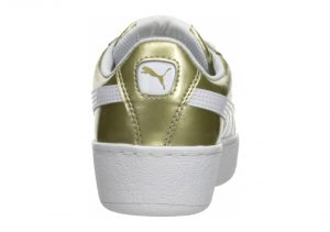 Puma Vikky Platform Metallic - Beige Metallic Gold Puma White 01 (36360901)